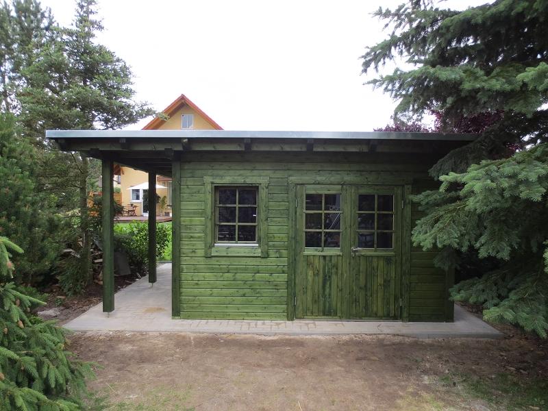 Gartenhaus Tannengrün im Grünen