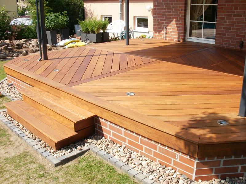 f r diese terrasse wurde ipe verwendet ipe ist ein. Black Bedroom Furniture Sets. Home Design Ideas