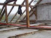 Dachsanierung Nebengebäude