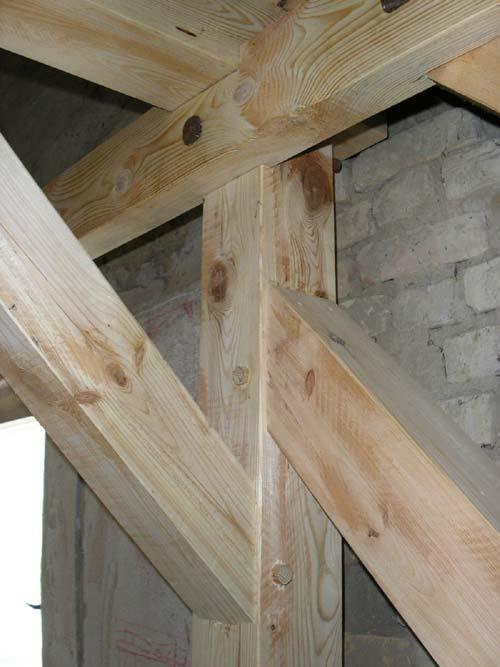 Sanierung eines Dachstuhles