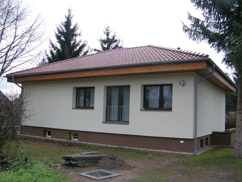 Dachaufstockung eines Flachdaches