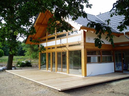 Sichtschutz Terrasse Eigentumswohnung : Terrassen aus Lärchenholz