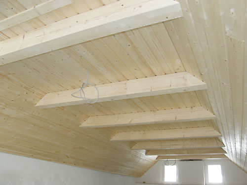Innenausbau mit Holz