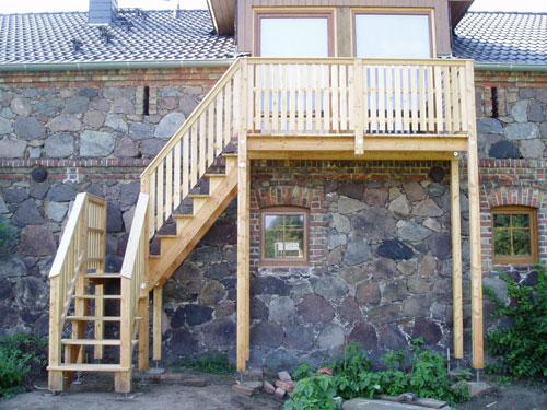 Beliebt Balkon mit Zugang zum Garten SA75