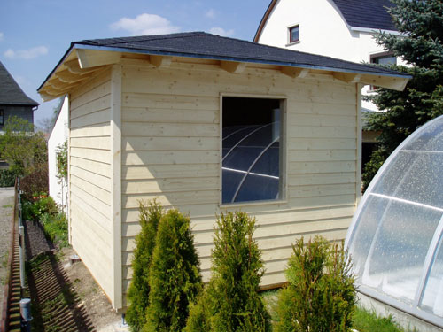 gartenhaus mit zeltdach. Black Bedroom Furniture Sets. Home Design Ideas